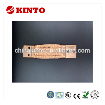 New design braided wire connectors, stranded copper rope
