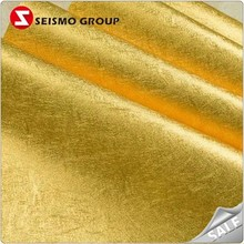 golden&silver embossed foil paper coated wrapping paper in roll