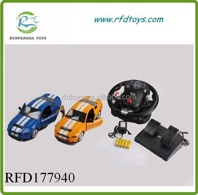 Rc car steering racing car game steering wheel toy remote control car