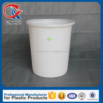 300l rotomouiding small plastic round containers for chemical water storage tanks