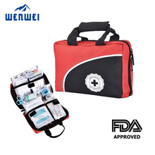 CE & FDA approved Red Cross family/office/workshop First Aid Kit