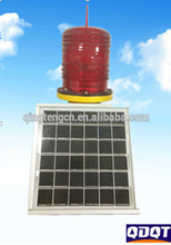 TXH-90LED Low and high intensity solar led aviation obstruction light and warning light for tower and chimmeys bridges