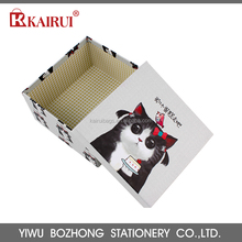 China manufactory eco custom made three sizes two piece paper gift box