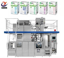 Fruit juice milk Tetra Brick packing Filling Machine