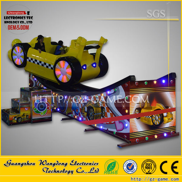 2015 WDJJ-002 Thrilling indoor kids amusement rides for sale kids electric flying car