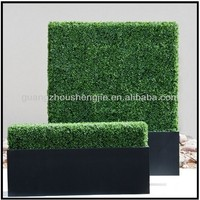 Sleek Realistic Artificial Hedges Outdoor Privacy