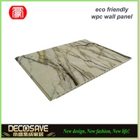 marble stone wpc wall panel / wpc board / cheap facade wall panel