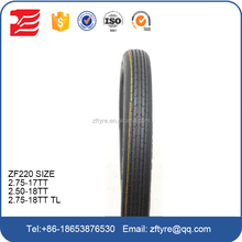 China motorcycle tyre manufacture 2.50-17 2.50-18 2.75-17 2.75-18 3.00-17 3.00-18