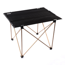 Wholesale cheap outdoor picnic portable black outdoor folding aluminum camping table
