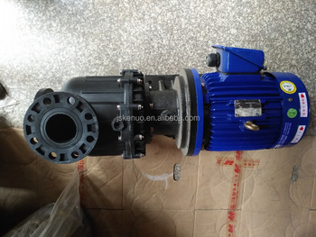 Electroplating magnetic filter pump for chemical liquid circulation