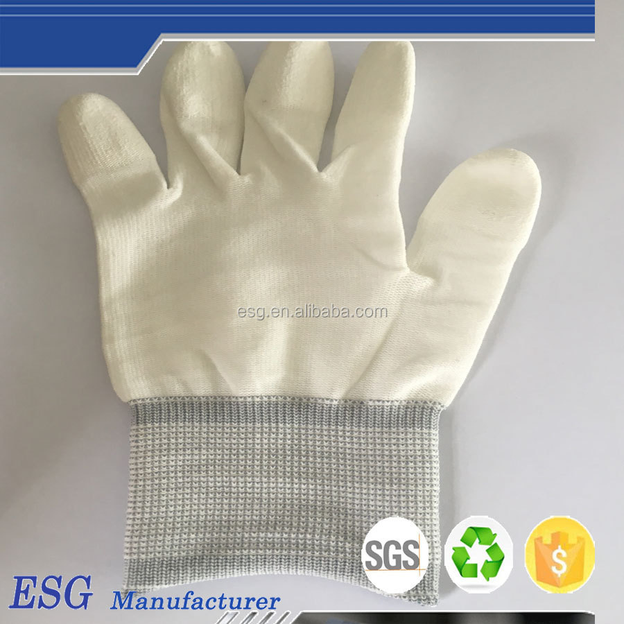 first class quality top fit gloves pu coated