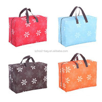 Foldable travelling quilt luggage organizer bag