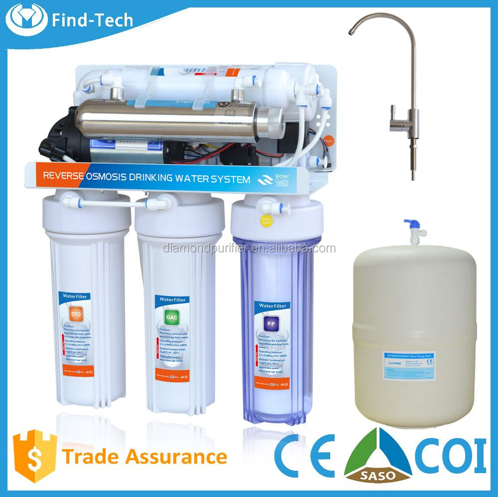 Promotion 6 stage reverse osmosis water vending machine,water filter tap