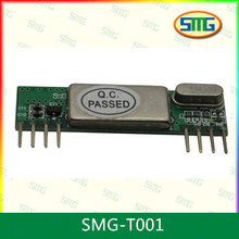 SMG-T001 Wireless remote control module 2262 match 5v decoding 2272 wireless receiving M4 / L4 / T4 mahogany electronic