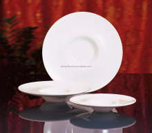China Dinner Cheap Porcelain Salad Dessert Plate for Hotels