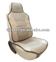 Dyeing faux embossed automobile seat leather for skin layer