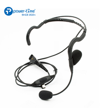 Profession noise canceling tactical headset for walkie talkie communication
