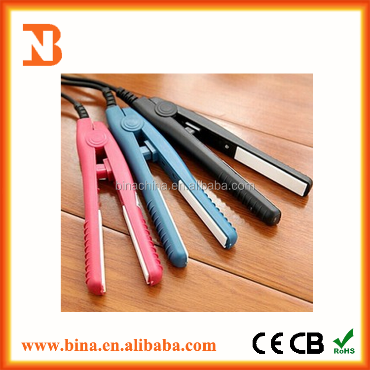 Best sale colorful electric Mini hair straighter for sale
