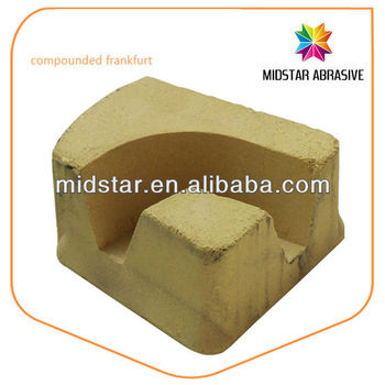 MIDSTAR compounded frankfurt abrasive for marble