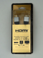 New premium 24k Gold plated HDMI cable 2160P 3D ultra HD support HDMI 2.0 HDMI 1.1