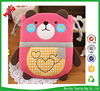 2016 newest design animal bear Cosmetic Pouch,ladies travel storage bag