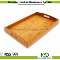 Bamboo Wooden Serving Tray