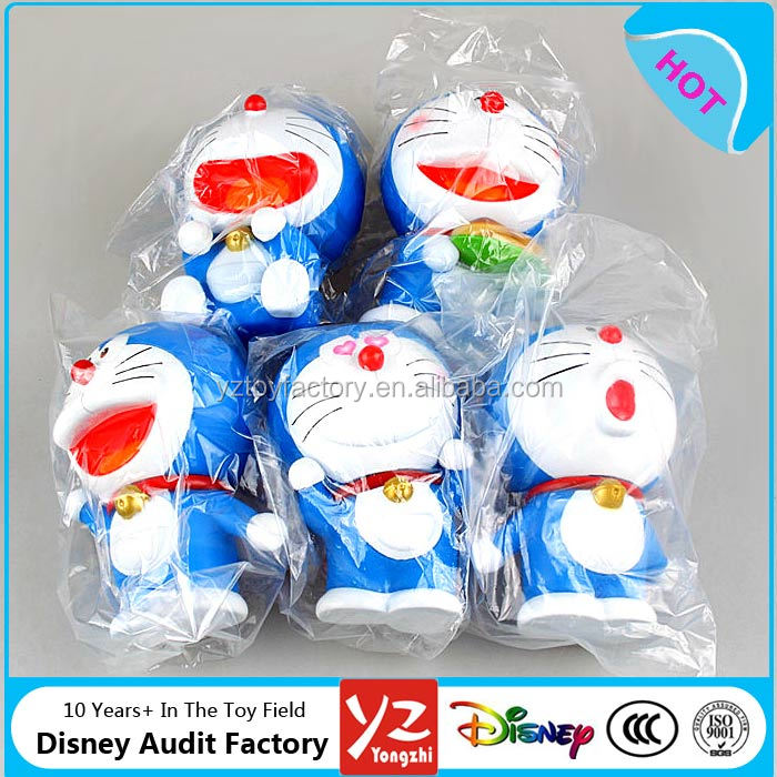 For Children Gifts 5pcs Japan Anime Doraemon Limited Stand by me PVC Plastic Action Figure