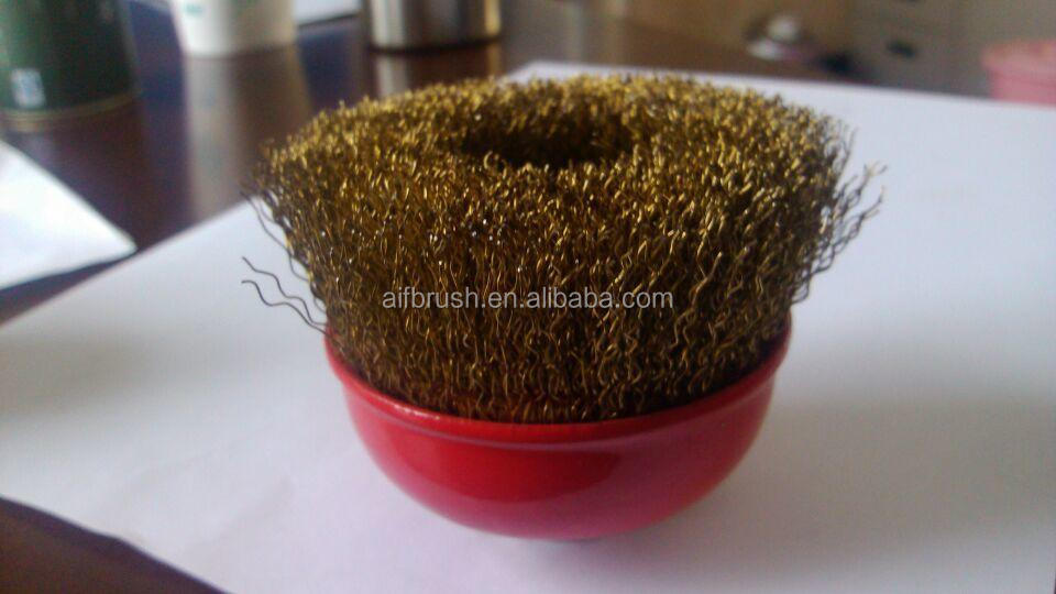 CRMPED WIRE CUP BRUSH 100mm x M14
