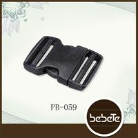 custom 2015 good quality bag parts - 2inch color plastic side release buckle