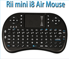 Wholesale Rii i8 Keyboard 2.4G Wireless Backlight keyboard Air Fly Mouse Remote With Touchpad Handheld For Smart TV Box