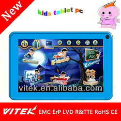 "Kids Tablet PC 7"" Android 4.0 Allwinner A13 4GB WiFi Tablet PC"