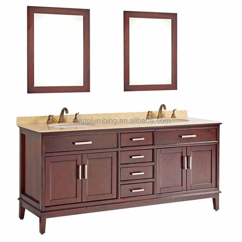 Solid wood bathroom cabinet BV27-7221T
