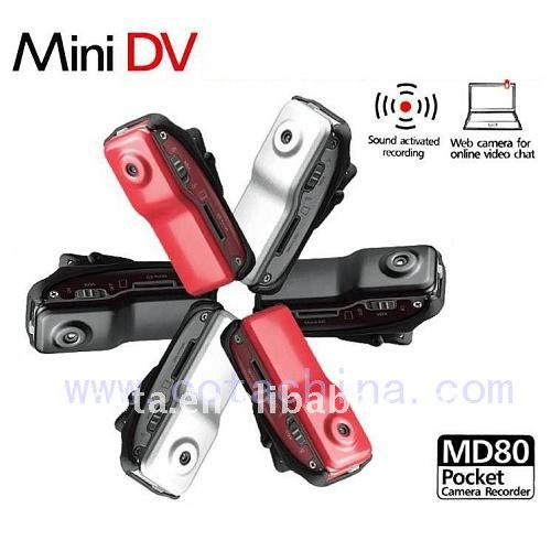 Metal Cover Sound Control Motion Detection MD80 Mini DVR CT-MD80B