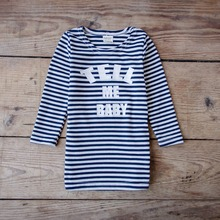 YD1022baby clothing striped cotton fashion baby t-shirt
