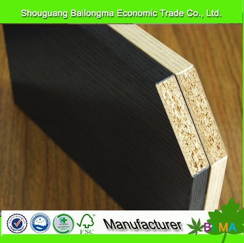 18mm melamine faced waterproof chipboard /particleboard