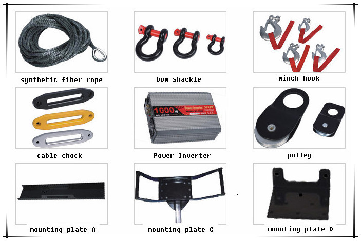Introduce All kinds of 12v winch used jeep/truck/tractor/mini car/electric winch for sale
