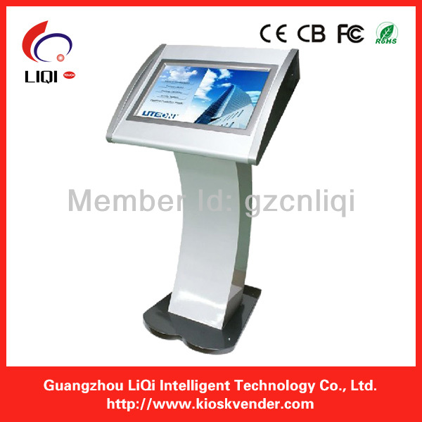42inch Free Stand LCD Advertising Shopping Mall Kiosk With Internet Online Management