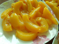 canned yellow fruit peach foods for distributors