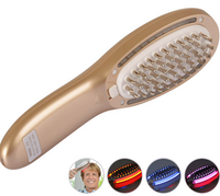 Latest products in market diode laser hair growth massage comb laser hair growth comb