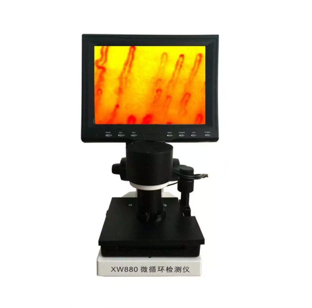 2017 Blood microcirculation microscope WX880 can record video
