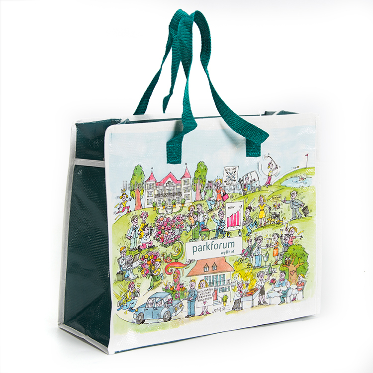2018 New Type and High Quality laminated shopping bag