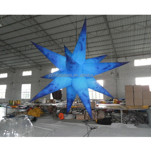 cheap advertising inflatable LED light star for party decoration