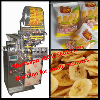 Small Machine Plantain Chips Packaging Machine