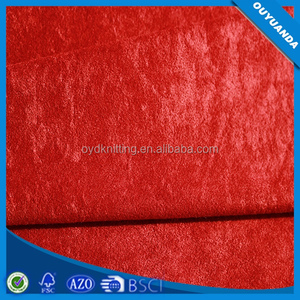 Knitted Polyester Aloba Loop Fabric for Lazy Boy Sofa/Cushion/Mattress Velboa Fabric