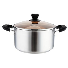 Hot sale cheap kitchen cookware stainless steel soup pot