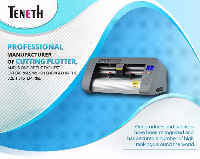 High Quality 330mm Digital Vinyl/Sticker/Paper Cutting Plotter