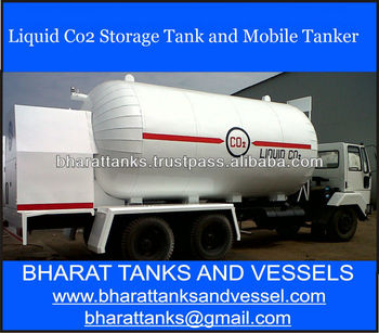 Liquid Co2 Storage Tank and Mobile Tanker