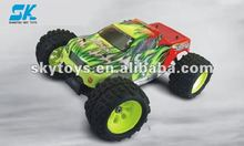!1/8th Nitro Off-Road Monster Truck brushed esc RC nitro car with 21cxp nitro engine r/c top model high quality rc model truck