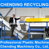 CHENDING waste plastic films recycling/films washing plant
