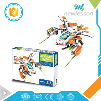 popular brain game intelligence helicopter shape diy blocks with low price